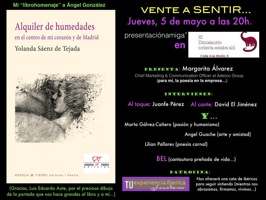 invitacion presentacion Alquiler de humedades