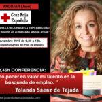 yolanda saenz de tejada conferencia cruz roja talento y empleo