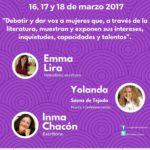 yolanda saenz de tejada canarias orotava congreso literatura en femenino mujer empresa y cultura congreso literario canarias