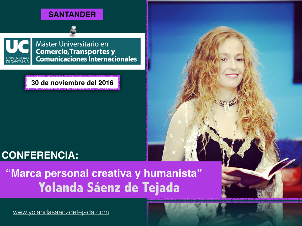 invitacion yolanda conferencia universidad de Santander