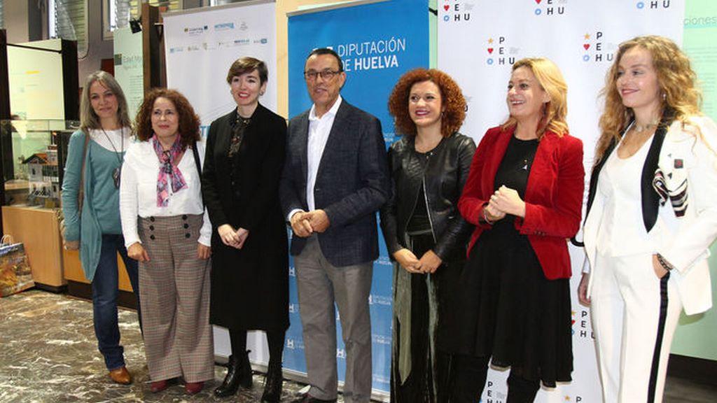 Visibilidad femenina en Huelva conferencia de Yolanda Sáenz de tejada