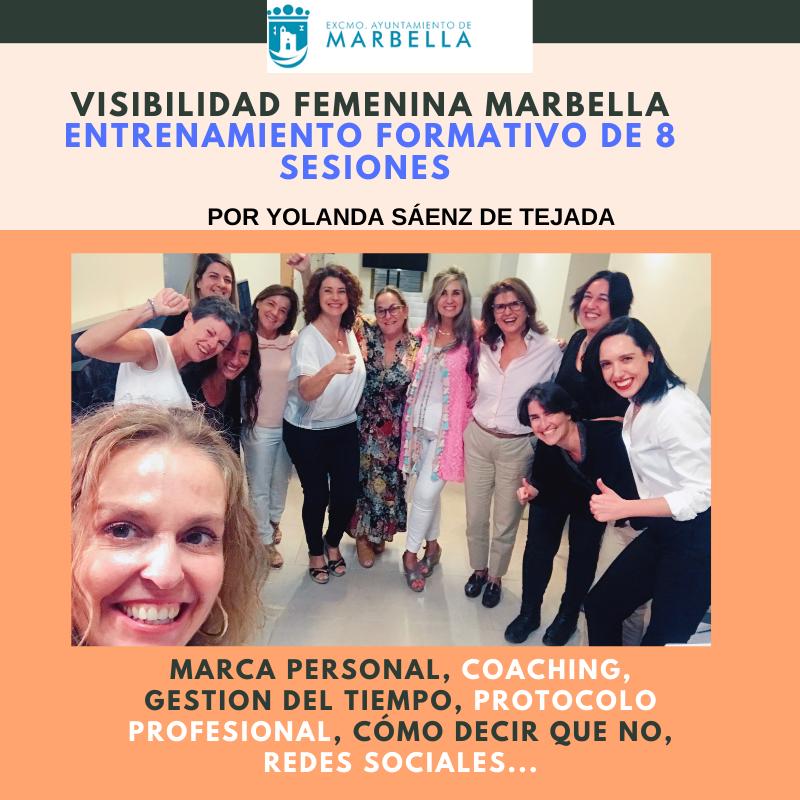 visibilidad femenina marbella yolanda saenz de tejada cursos para mujeres