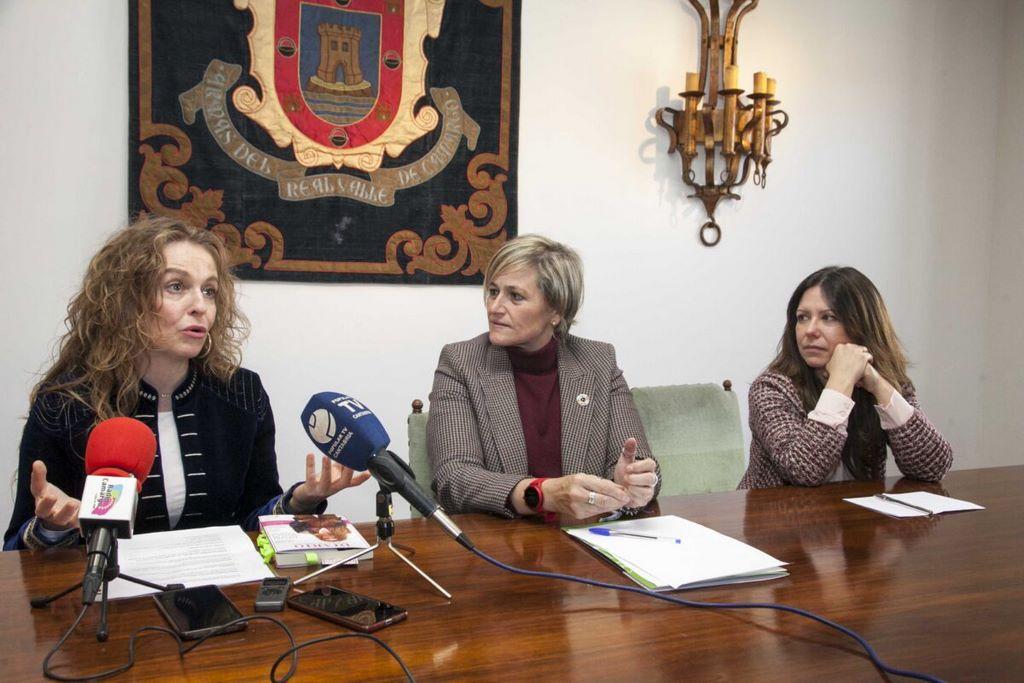 visibilidad femenina camargo rueda de prensa cursos para mujeres