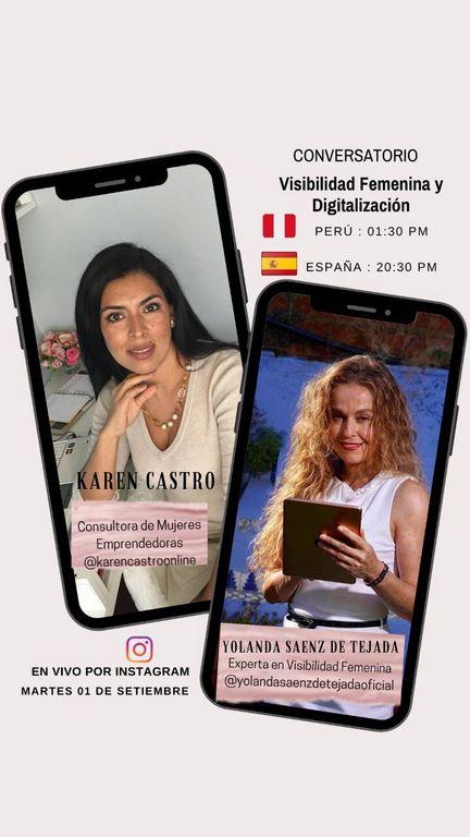 Visibilidad femenina y digitalización Perú