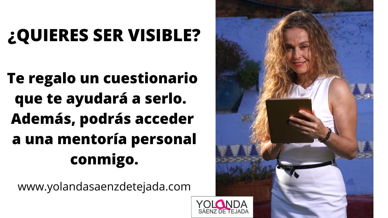 Cuestionario de visibilidad femenina