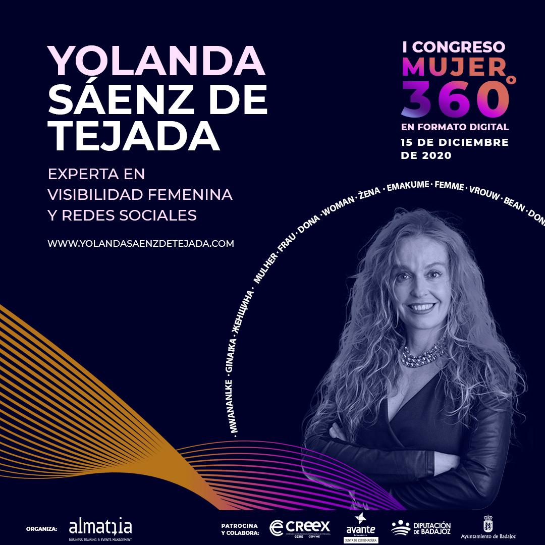 Conferencia inaugural I Congreso Mujer 360. Yolanda Sáenz de Tejada Vázquez.