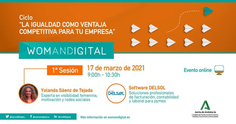 woman digital ponencia yolanda saenz de tejada