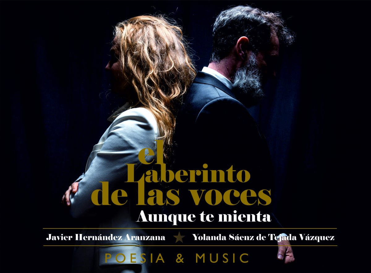 El laberinto de las voces. Musica y poesía grupo de Yolanda Sáenz de Tejada y Javier hernández aranzana. Fusión