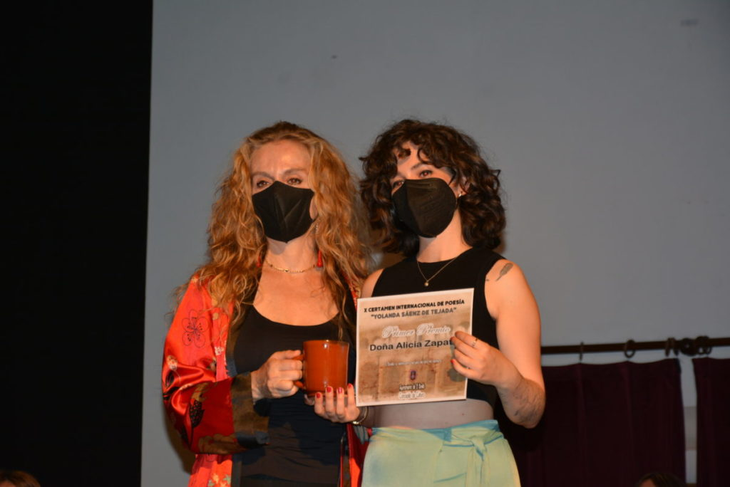 ganadores del certamen de poesía yolanda saenz de tejada El Bonillo